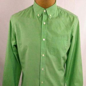 BANANA REPUBLIC Soft Wash Men's Dress Shirt SZ LG